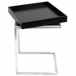 Zenn End Table and Tray [TB-ZENNKD-TR-BK-FS-LUMI]