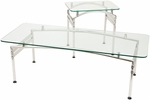 Zia Arch-Frame Glass Top Occassional Table [CTG-2424-1770-FS-CPL]