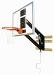 Zip Crank Adjustable Glass Basketball Shooting Station [PKG300-BIS]