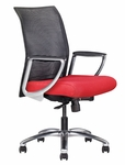 Zip Mesh Back Task Chair with Aluminum Base [95040-NA-FS-ALL]
