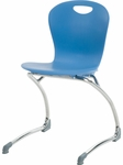 ZUMA Series Cantilever Chair with 18.75'' Seat Height [ZCANT18-VCO]