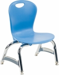 ZUMA Series Chair with 10''H Seat - 15.25''W x 13.75''D x 20.12''H [ZU410-VCO]