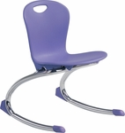 ZUMA Series Rocker Chair with 12.75''H Seat - 15.75''W x 17.12''D x 21.37''H [ZROCK13-VCO]