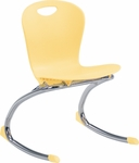 ZUMA Series Rocker Chair with 14.63''H Seat - 17.75''W x 18.37''D x 24.62''H [ZROCK15-VCO]