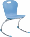 ZUMA Series Rocker Chair with 17.63''H Seat - 20''W x 22.75''D x 30.62''H [ZROCK18-VCO]