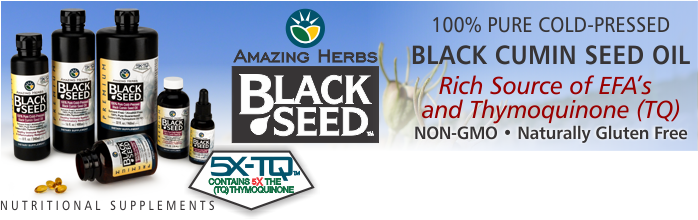 Black Seed Pure Oil & EFA Blends