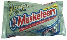 3 Musketeers Snack Size Candy Bars (21ct)