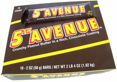 5th Ave Candy Bar 18ct