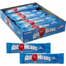 Air Heads Taffy 36ct - Blue Raspberry