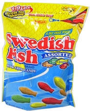 Assorted Swedish Fish 1.9lb Zip Close Bag