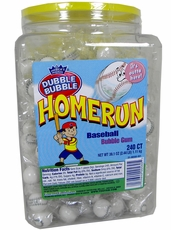 Baseball  Bubble Gum 240ct  Double Bubble