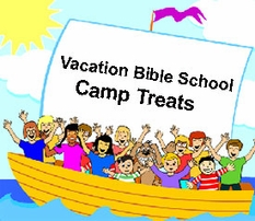 Bible School Treats ; Kids Camp Treats
