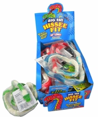 Big Fat Hissee Gummy Snake  12 Count