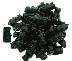 Black Licorice Sugar Free Gummy Bears