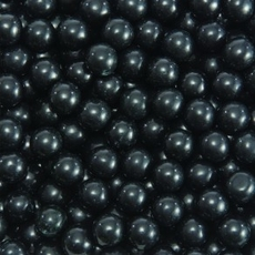 Black Mini Chocolate Balls 2lb Bag Sixlets