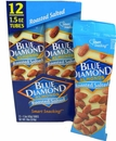 Blue Diamond Almonds Roasted Salted 1.5oz Tube