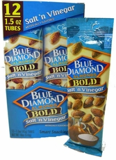 Blue Diamond Almonds Salt 'n Vinegar 1.5oz. Tube