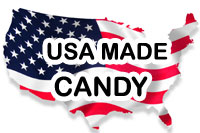 CANDY MADE IN THE USA