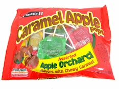 Caramel Apple Lollipops Assorted Flavors 24ct Bag