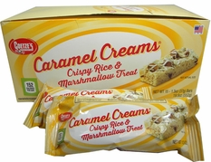 Caramel Cream Rice Crispy Bar 15 Count