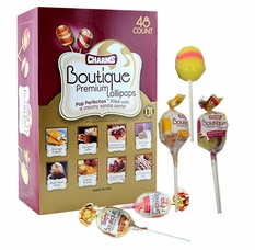 Charms Premium Boutique Lollipops 48 Count