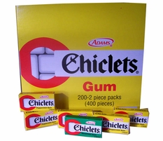 Chiclets  2 Piece Mini Boxes 200ct