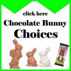 Chocolate Bunny Choices - Choose Your Favorite