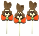 Chocolate Bunny Lollipop 3oz