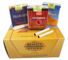 Chocolate Candy Cigarettes 24 Count