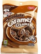 Chocolate Caramel Creams 4oz Bag Goetze's