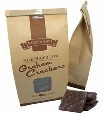 Chocolate Covered Graham Crackers 7.5oz Bag