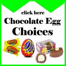 Chocolate Easter Egg Selection - Choose Your Favorite