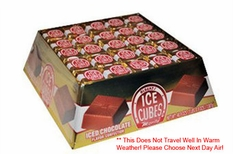 Chocolate Ice Cubes 125 Count Box