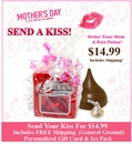 Chocolate Kiss Gift - Shipping Included