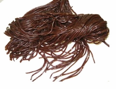 Chocolate Shoe String Licorice 2lbs