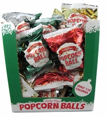 Christmas Popcorn Balls 48 Count (2BX)