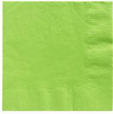 Citrus Green Beverage Napkins 3 Ply - 50 Count