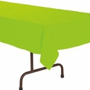 Citrus Green Plastic Tablecloth