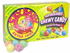 Cry Baby Sour Candies 4oz Theater Box