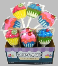 Cupcake Lollipops 18ct