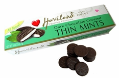 Dark Chocolate Covered Thin Mints 5oz Necco