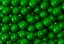 Dark Green Mini Chocolate Balls 2lb Sixlets