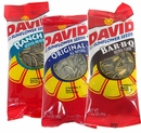 David Sunflower Seeds 12ct ; Regular; BBQ, or Ranch