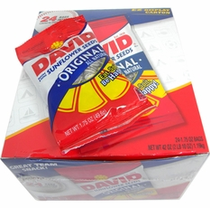 David Sunflower Seeds Original 24 Count (1.75oz Bags)