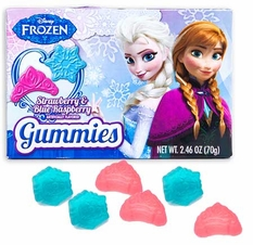 Disney Frozen Gummies 2.46oz box