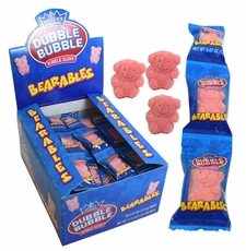 Dubble Bubble Bearable Bubble Gum Bears 36 Count