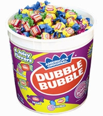 Dubble Bubble Bubble Gum 300ct  Assort