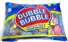 Dubble Bubble Gum Balls Snack Size Boxes 15 Count