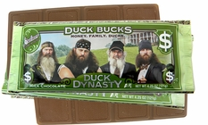 Duck Dynasty Chocolate Candy Bar (1) 4.25oz