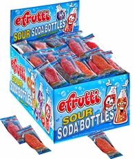 eFrutti Sour Soda Bottles Gummies 80 Count